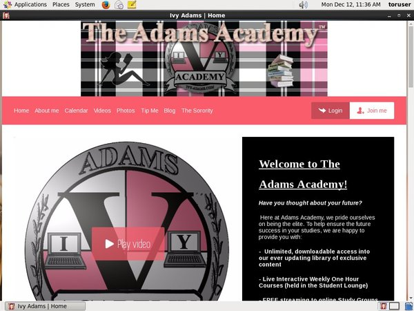 Access To Ivyadams.modelcentro.com
