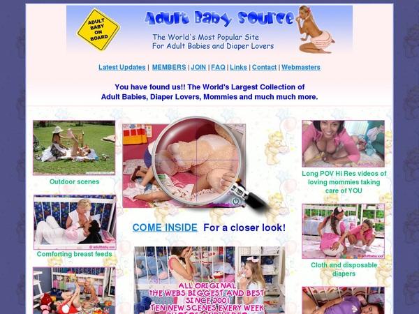 Adultbabysource Discount Urls