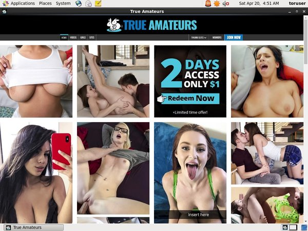 Amateurs True Discount Membership
