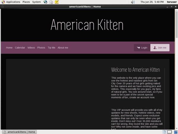 Americankittens With Pay Safe Card