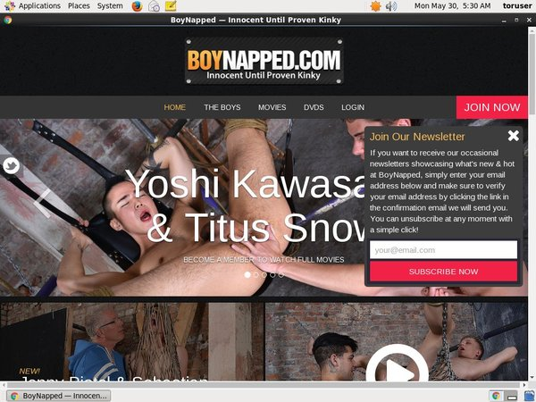 Boynapped.com 支払い