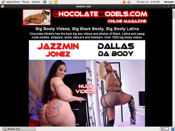 Chocolate Models Jada Gemz
