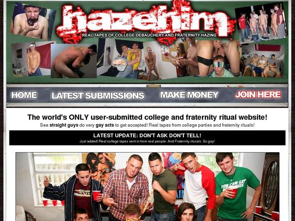 Deal Hazehim.com