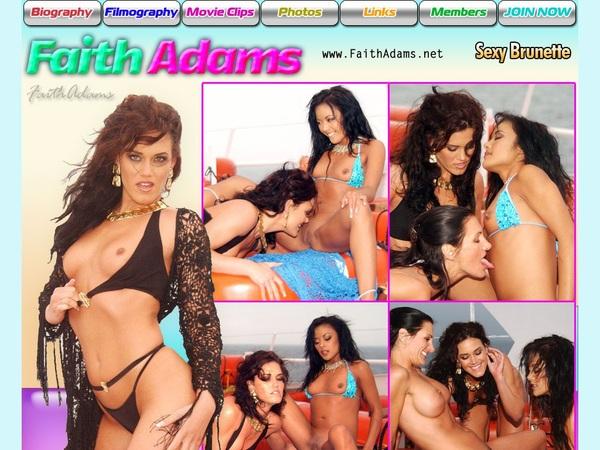 Faith Adams Receive Discount