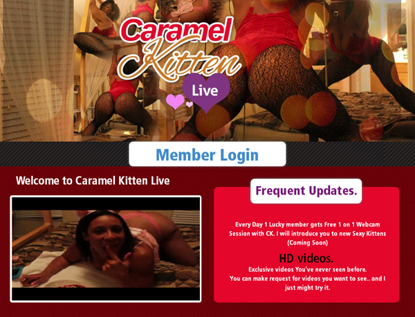Free Acc For Caramelkittenlive.com