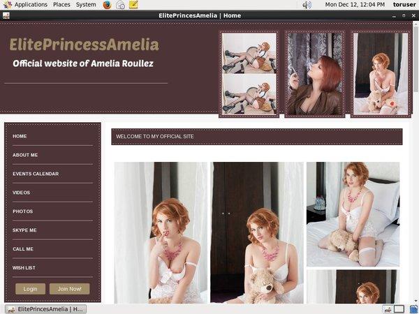Free Elite Princess Amelia Login Accounts
