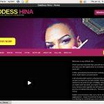 Goddess Hina Paysite Review