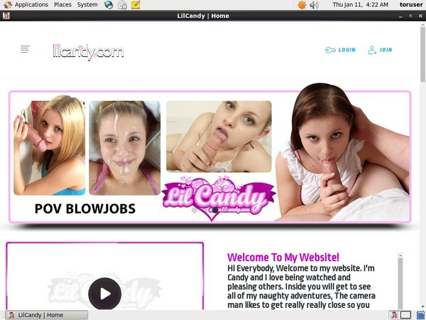 Lil Candy Pro Biller Page