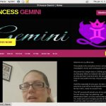 Princess Gemini Discount Login