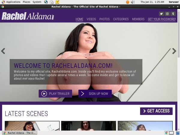 Rachelaldana.com Latest