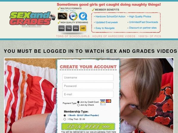 Sexandgrades.com Percent Off