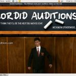 Sordid Auditions Free Sex