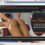 Thai Pussy Massage Make Account