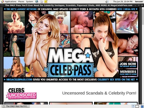 Trial Megacelebpass Account