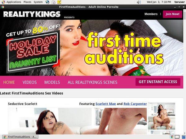 First Time Auditions Fuck