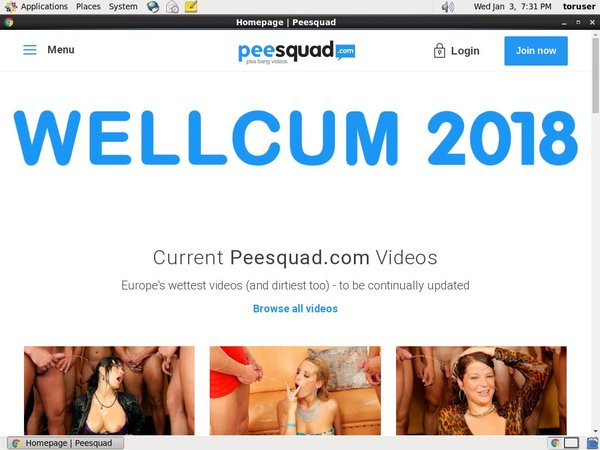 Get Into Peesquad