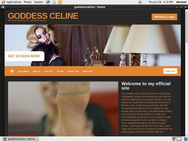 Goddessceline.net With Webbilling.com