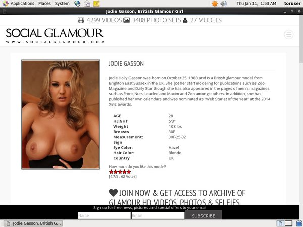 How To Get Into Jodie Gasson