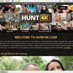 Hunt 4k Premium Logins