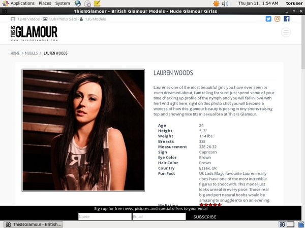 Lauren Wood Join Page