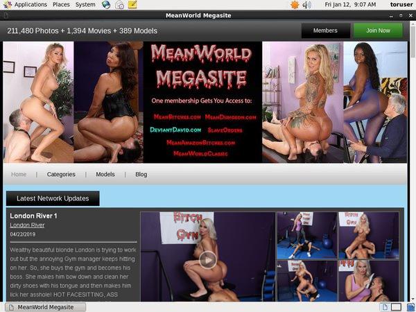 Meanworld.com Premium Accounts