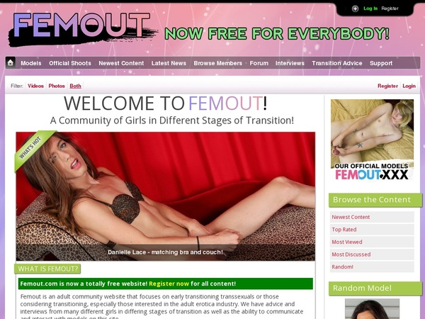 Signup Femout.com Paypal