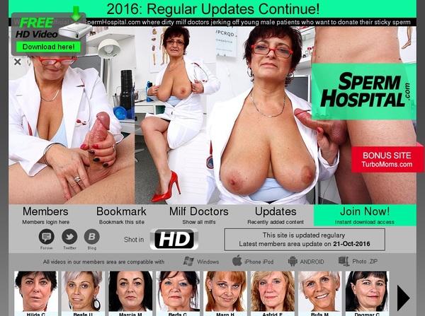Spermhospital.com Discount Deals