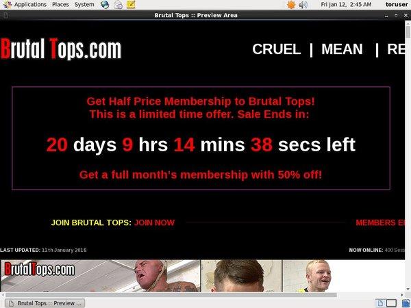 Tops Brutal Trial
