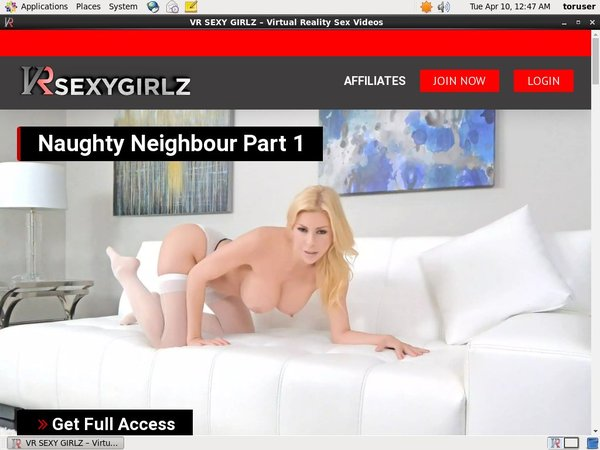 VR Sexy Girlz Discount Signup