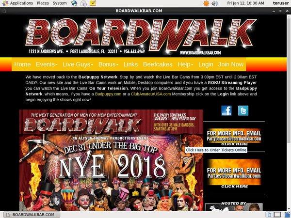 Boardwalkbar With Online Check