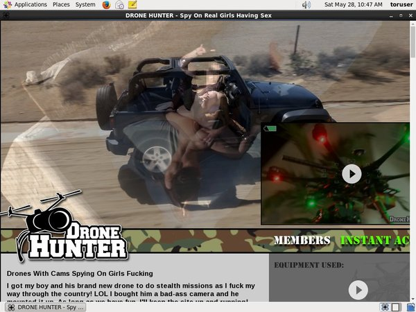 Dronehunter.com Free Trial Porn