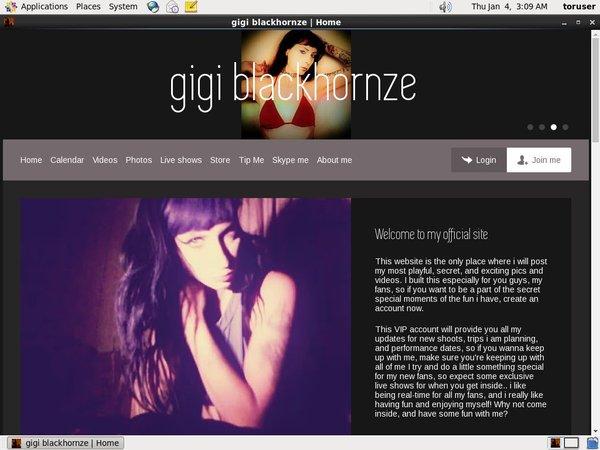Free Gigi Blackhornze Premium Accounts