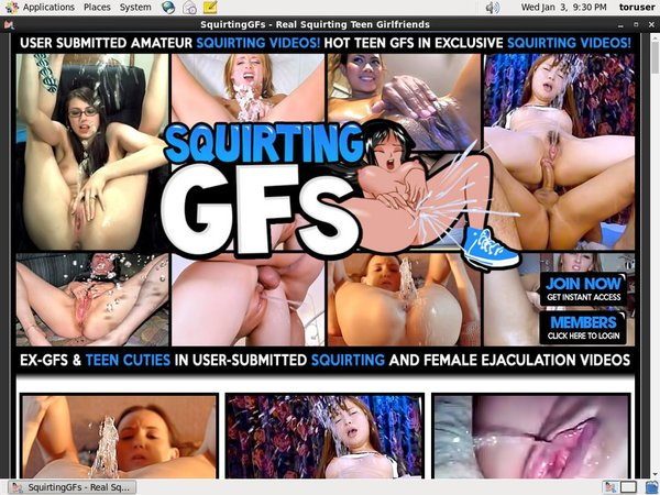 Squirting GFs Trial Discount