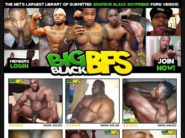 Big Black BFs Discount Registration