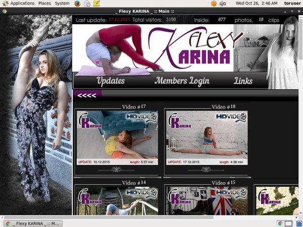 Flexy Karina Membership Discounts