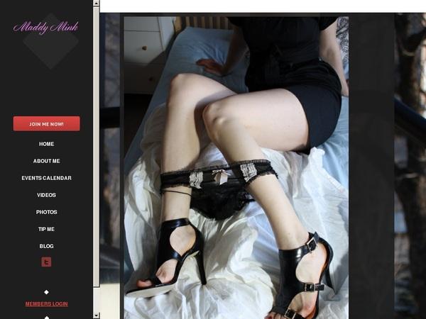 Maddymink.modelcentro.com Trial Membership Free