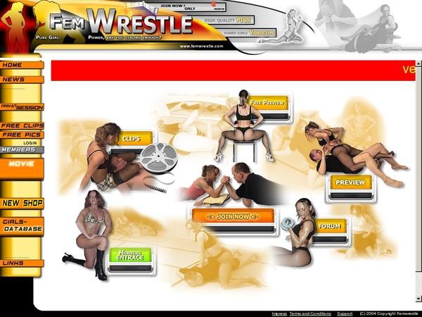 Fem Wrestle Limited Offer
