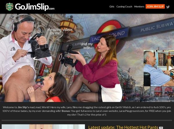 Go Jim Slip Cash