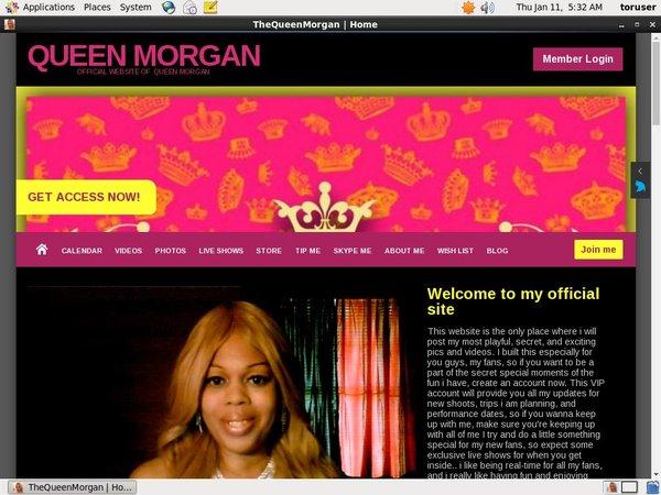 Queen Morgan Free Trial Special