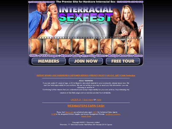 Coupons Interracial Sex Fest