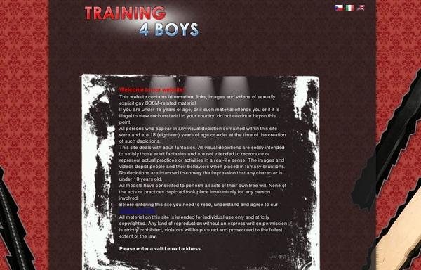 Training4boys.com Ccbillpay