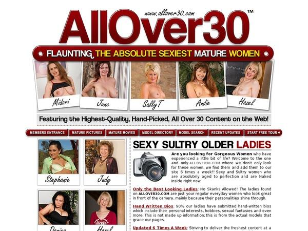 All Over 30 Original Logins