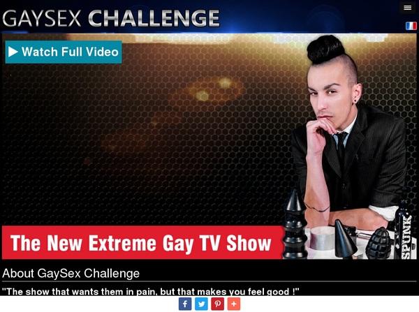 Gaysexchallenge Sex.com