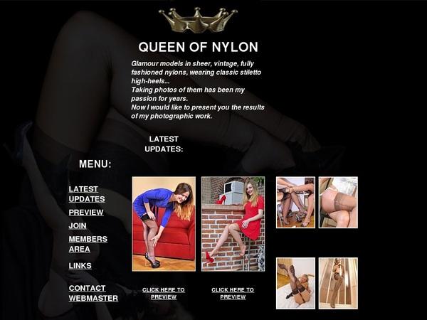 Queenofnylon.com Premium Accounts