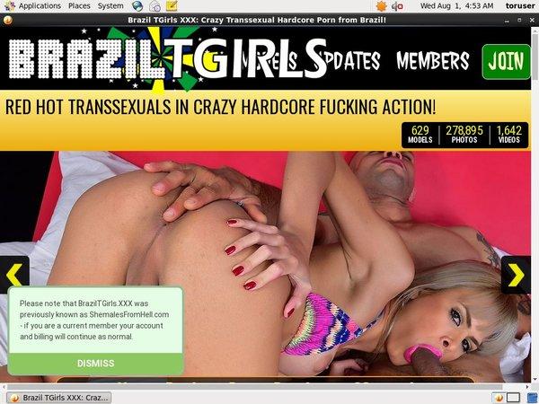 Brazil TGirls XXX Mail Order